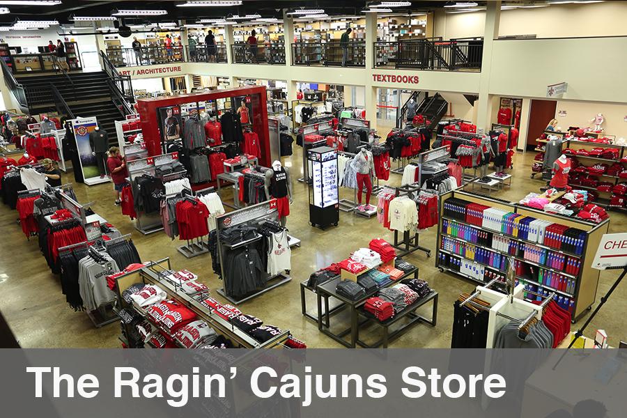 The Ragin' Cajuns Store